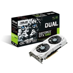 Foto Placa de Video NVIDIA GeForce GTX 1060 3 GB GDDR5 192 Bits Asus DUAL-GTX1060-O3G
