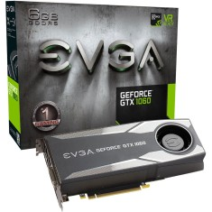 Foto Placa de Video NVIDIA GeForce GTX 1060 6 GB GDDR5 192 Bits EVGA 06G-P4-5161-KR
