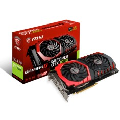 Foto Placa de Video NVIDIA GeForce GTX 1060 6 GB GDDR5 192 Bits MSI GTX 1060 GAMING X 6G