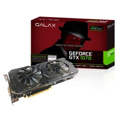 Foto Placa de Video NVIDIA GeForce GTX 1070 8 GB GDDR5 256 Bits Galax 70NSH6DHL4EC