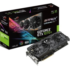 Foto Placa de Video NVIDIA GeForce GTX 1070 Ti 8 GB GDDR5 256 Bits Asus ROG-STRIX-GTX1070TI-8G-GAMING