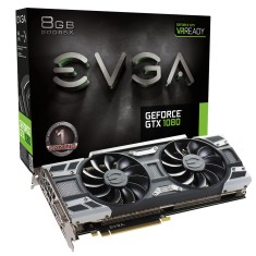 Foto Placa de Video NVIDIA GeForce GTX 1080 8 GB GDDR5X 256 Bits EVGA 08G-P4-6183-KR