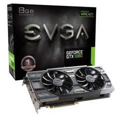 Foto Placa de Video NVIDIA GeForce GTX 1080 8 GB GDDR5X 256 Bits EVGA 08G-P4-6284-KR