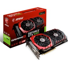 Foto Placa de Video NVIDIA GeForce GTX 1080 8 GB GDDR5X 256 Bits MSI GTX 1080 ENTUSIASTA 8GB