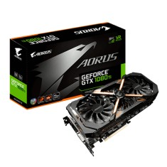 Foto Placa de Video NVIDIA GeForce GTX 1080 Ti 11 GB GDDR5X 352 Bits Aorus GV-N108TAORUS-11GD