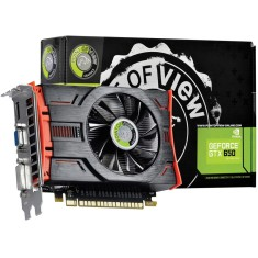 Foto Placa de Video NVIDIA GeForce GTX 650 2 GB GDDR5 128 Bits Point Of View VGA-650-C1-2048