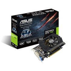 Foto Placa de Video NVIDIA GeForce GTX 750 1 GB GDDR5 128 Bits Asus GTX750-PHOC-1GD5