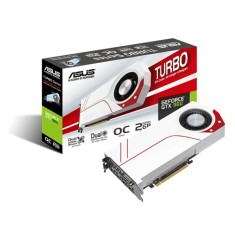Foto Placa de Video NVIDIA GeForce GTX 960 2 GB GDDR5 128 Bits Asus TURBO-GTX960-OC-2GD5