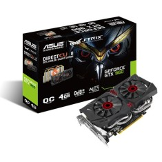 Foto Placa de Video NVIDIA GeForce GTX 960 4 GB GDDR5 128 Bits Asus STRIX-GTX960-DC2OC-4GD5