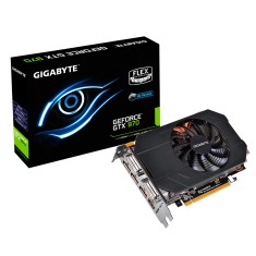 Foto Placa de Video NVIDIA GeForce GTX 970 4 GB GDDR5 256 Bits Gigabyte GV-N970IXOC-4GD