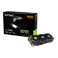 Foto Placa de Video NVIDIA GeForce GTX 980 Ti 6 GB GDDR5 384 Bits Zotac ZT-90505-10P