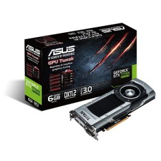 Foto Placa de Video NVIDIA GeForce GTX Titan Black 6 GB GDDR5 384 Bits Asus GTXTITANBLACK-6GD5