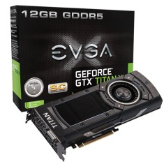 Foto Placa de Video NVIDIA GeForce GTX Titan X 12 GB GDDR5 384 Bits EVGA 12G-P4-2992-KR