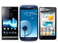 Galaxy, Xperia ou Optimus