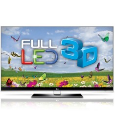 "Foto Smart TV LED 3D 47"" LG Infinita Full HD 47LX9500"