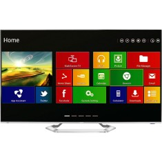 "Foto Smart TV LED 3D 55"" JVC 4K LT-55NU40B 3 HDMI"