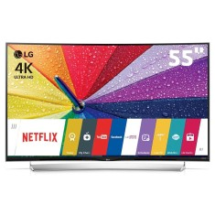 "Foto Smart TV LED 3D 55"" LG 4K 55UG8700 3 HDMI"