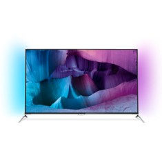 "Foto Smart TV LED 3D 55"" Philips Série 7000 4K 55PUG7100"
