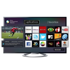 "Foto Smart TV LED 3D 55"" Sony Bravia Full HD KDL-55W805A"
