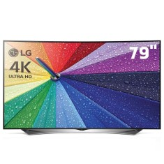"Foto Smart TV LED 3D 79"" LG 4K 79UG8800 4 HDMI"