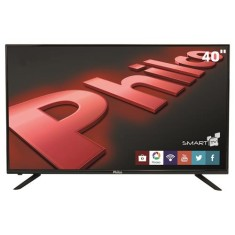 "Foto Smart TV LED 40"" Philco Full HD PH40U21DSGW 3 HDMI"