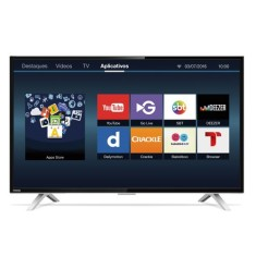 "Foto Smart TV LED 40"" Semp Toshiba Full HD 40L2600"