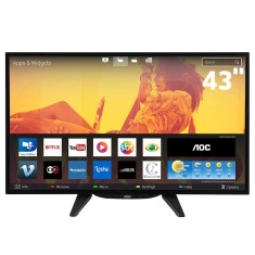 "Foto Smart TV LED 43"" AOC Full HD LE43S5760 3 HDMI"