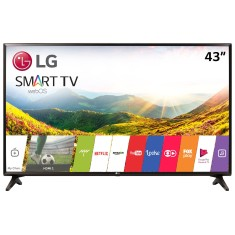 "Foto Smart TV TV LED 43"" LG Full HD Netflix 43LJ5550 2 HDMI"