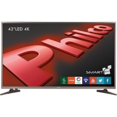 "Foto Smart TV LED 43"" Philco 4K PH43E60DSGW 3 HDMI"