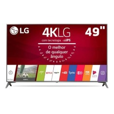 "Foto Smart TV LED 49"" LG 4K 49UJ6565"