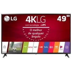 "Foto Smart TV LED 49"" LG 4K HDR 49UJ6300 3 HDMI 