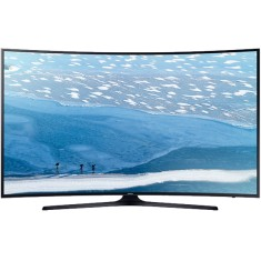 "Foto Smart TV LED 49"" Samsung Série 6 4K HDR UN49KU6300"
