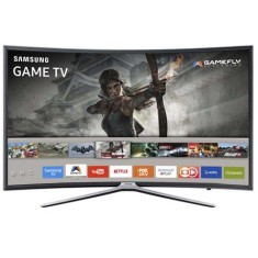 "Foto Smart TV LED 49"" Samsung Série 6 Full HD UN49K6500 3 HDMI"