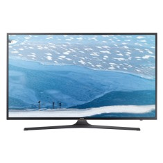 "Foto Smart TV LED 50"" Samsung Série 6 4K HDR UN50KU6000"