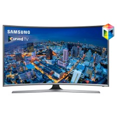 "Foto Smart TV LED 55"" Samsung Série 6 Full HD UN55J6500 4 HDMI"