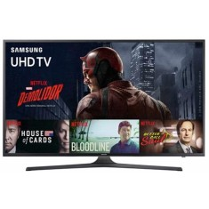 "Foto Smart TV LED 70"" Samsung Série 6 4K HDR UN70KU6000"