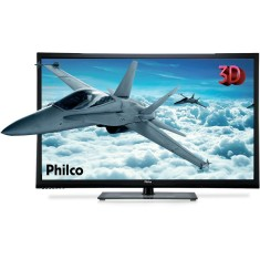 "Foto Smart TV Plasma 3D 51"" Philco PH51C20PSG 3 HDMI USB"