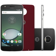 Foto Smartphone Motorola Moto Z Z Play 32GB XT1635-02 16,0 MP 2 Chips Android 6.0 (Marshmallow) 3G 4G Wi-Fi
