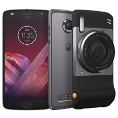 Foto Smartphone Motorola Moto Z Z2 Play Hasselblad True Zoom 64GB xt1710 12,0 MP 2 Chips Android 7.1 (Nougat) 3G 4G Wi-Fi