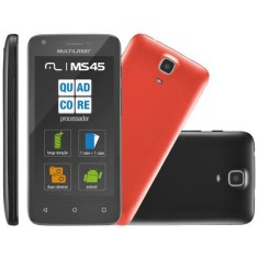 Foto Smartphone Multilaser MS45 Colors P9009 8GB Android