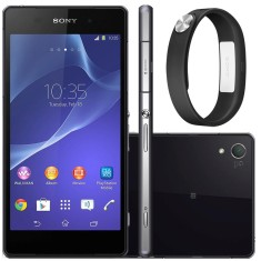 Foto Smartphone Sony Xperia Z2 TV Digital 16GB D6543 20,7 MP Android 4.4 (Kit Kat) Wi-Fi 3G 4G