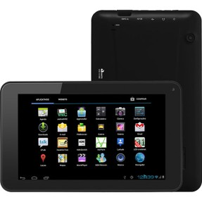 "Foto Tablet CCE TR71 4GB 7"" Android 2 MP Filma em Full HD"