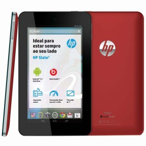 "Foto Tablet HP Slate 7 2800 8GB 7"" Android 3 MP"