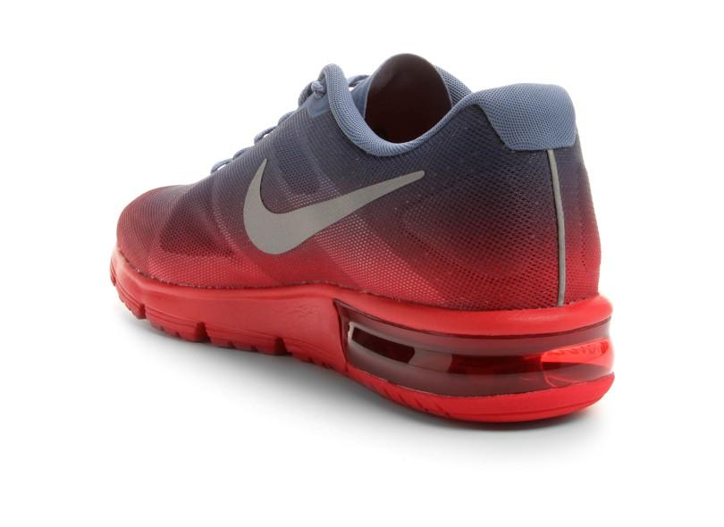 d2d681b216 Tênis Nike Masculino Corrida Air Max Sequent