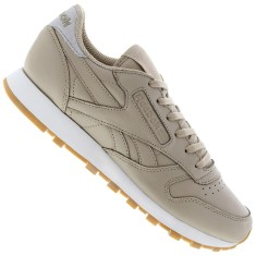Foto Tênis Reebok Feminino CL Leather Met Diamond Casual
