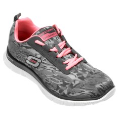 Foto Tênis Skechers Feminino Flex Appeal Clever Style Caminhada