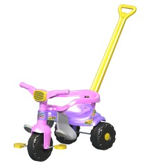 Foto Triciclo com Pedal Magic Toys Smart Super Feminino 2561