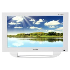 "Foto TV LED 14"" CCE LN14G USB LAN (Rede)"