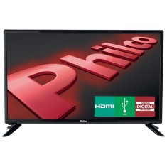 "Foto TV LED 28"" Philco PH28N91D 1 HDMI USB Frequência 60 Hz"