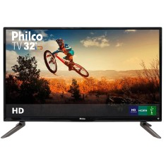 "Foto TV LED 32"" Philco PH32C10DG 3 HDMI USB LAN (Rede)"